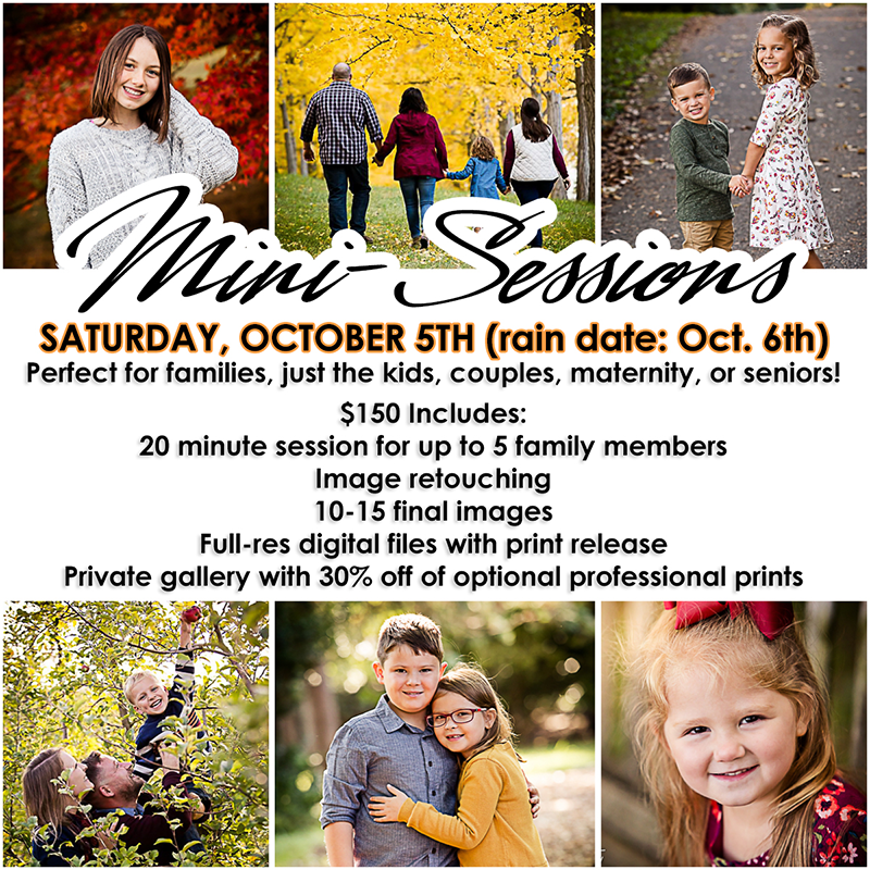 2019 Fall Mini Sessions