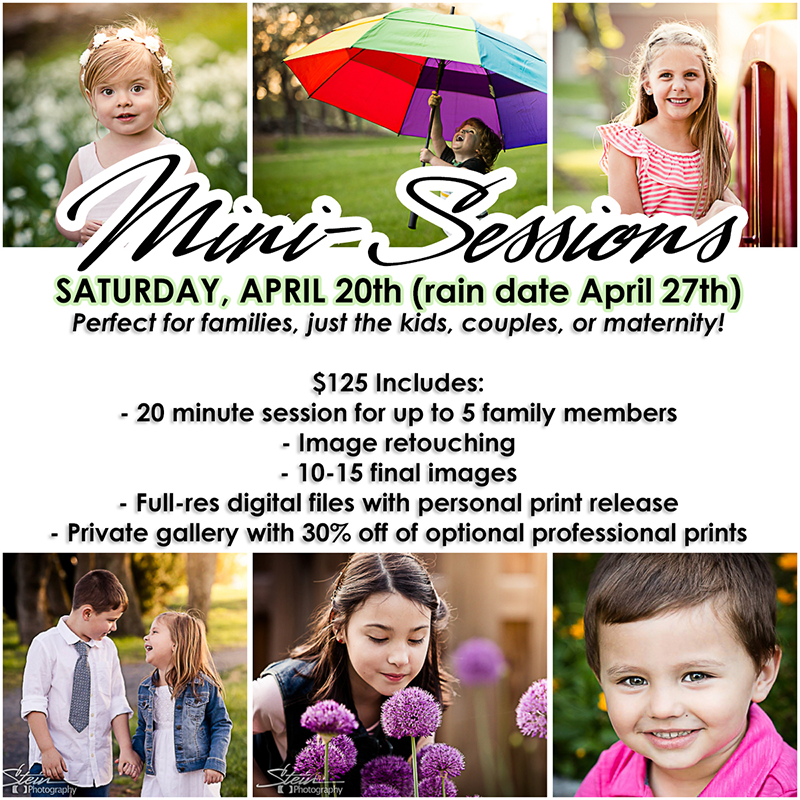 2019 Spring Mini Sessions